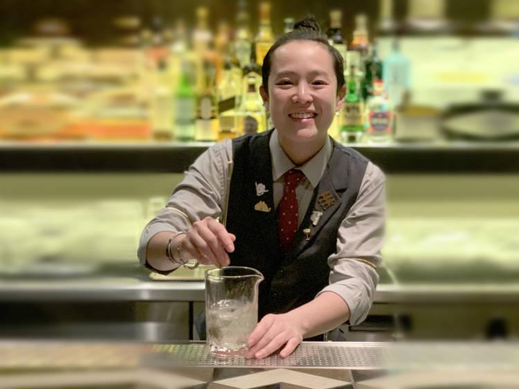 Jo Lo, bartender at Room 309