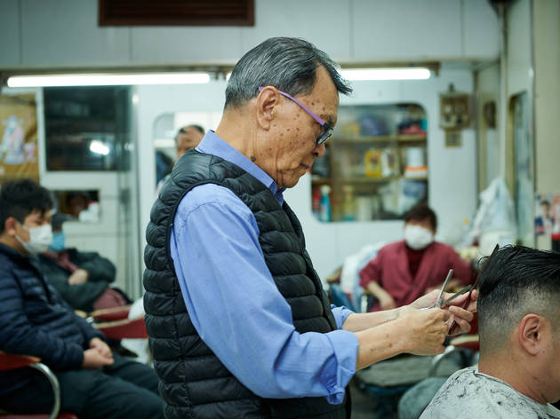 Hong Kong Barbershops