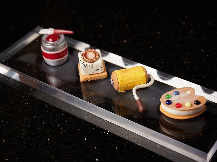 Themed afternoon tea at Tiffin