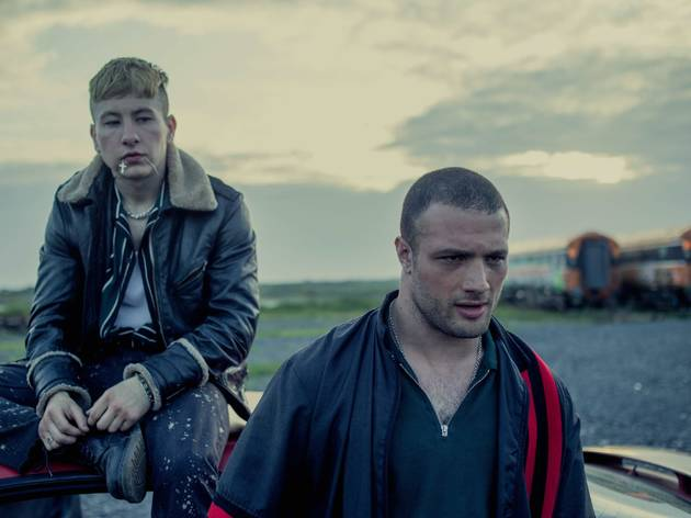 Cosmo Jarvis  and Barry Keoghan in Calm With Horses