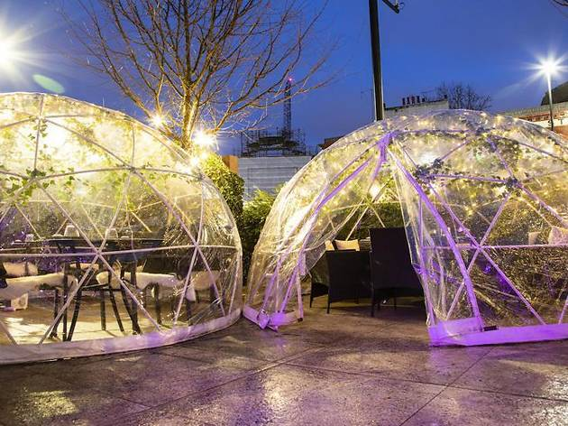 62% off bottomless food in an outdoor pop-up dining pod at Inamo