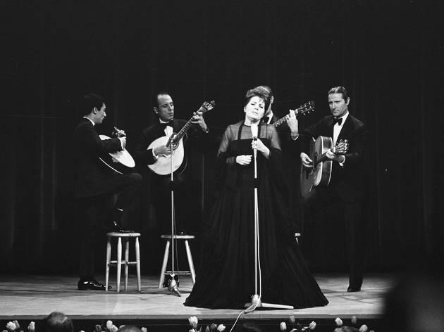 Amália Rodrigues em concerto em 1969