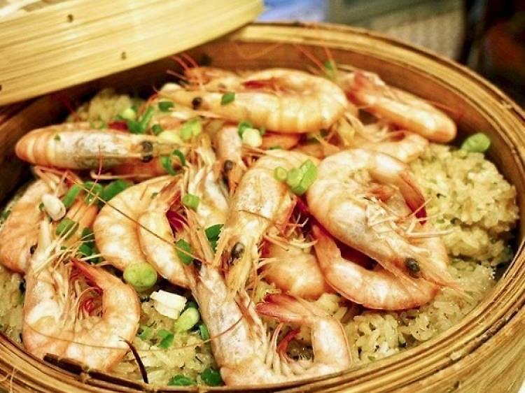快車茶餐廳:特色荷葉糯米飯