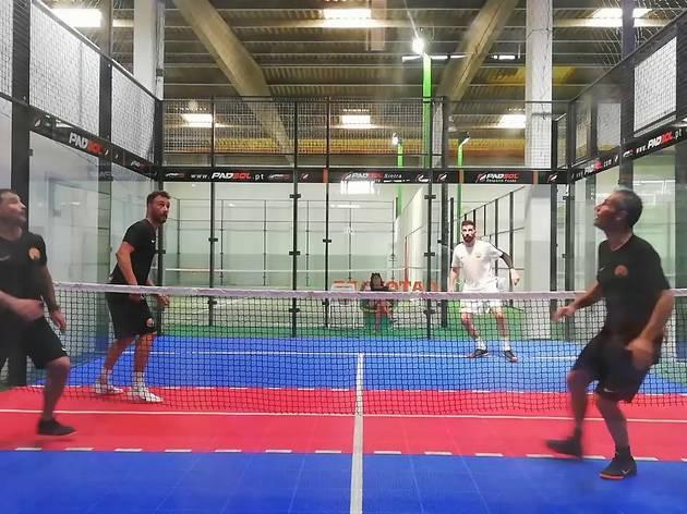 Padbol Sintra, Padbol, aulas de fitness, aulas de fitness estranhas