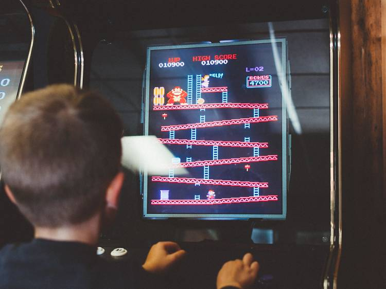 Hang out at the largest arcade in the U.S.