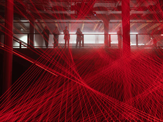 This bonkers laser art installation will blow your mind