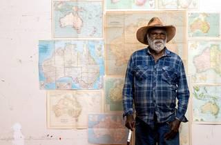Picture of the late Kunmanara 'Mumu Mike' Williams.