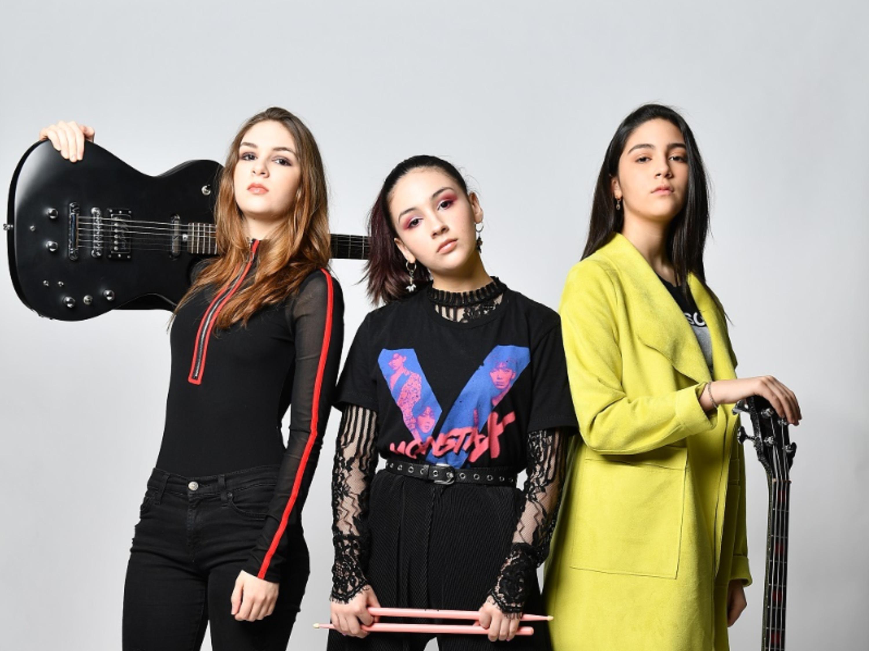 The Warning, trío de chicas en el Vive Latino