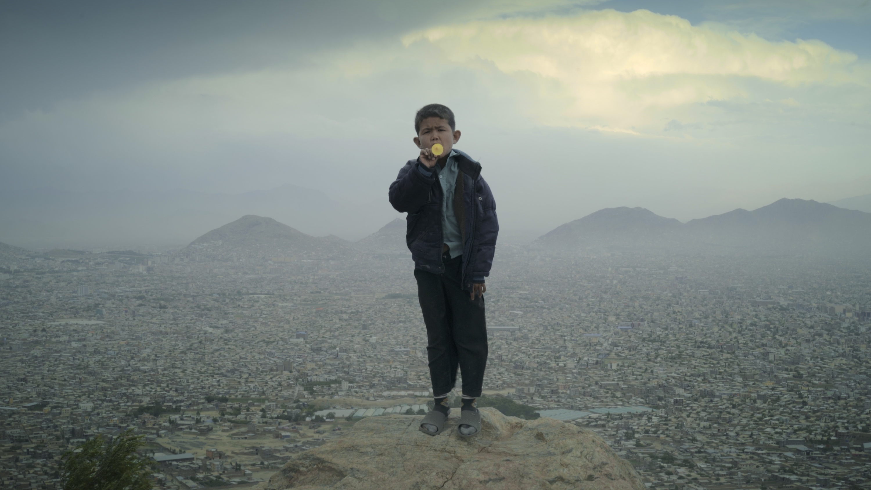 A child in Kabul