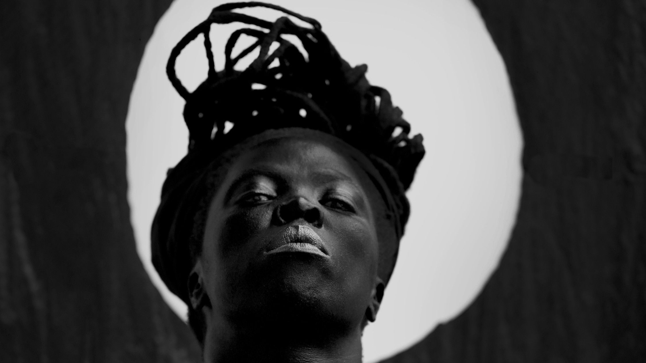 A South African person photographed by Zanele Muholi