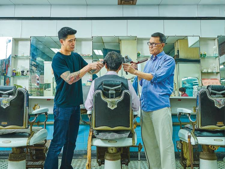 Trading stories: Two barbers from different generations