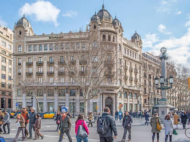 Edifici de Primark a la Rambla de Barcelona