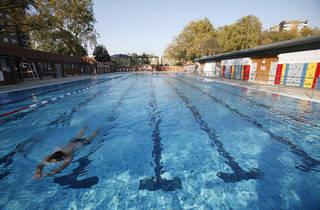 London Fields Lido Pool