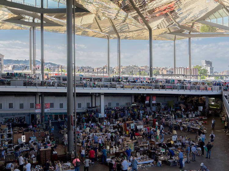 Browse one of Europe's oldest flea markets in Barcelona