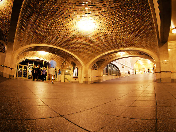 Grand Central Terminal's Whispering Gallery