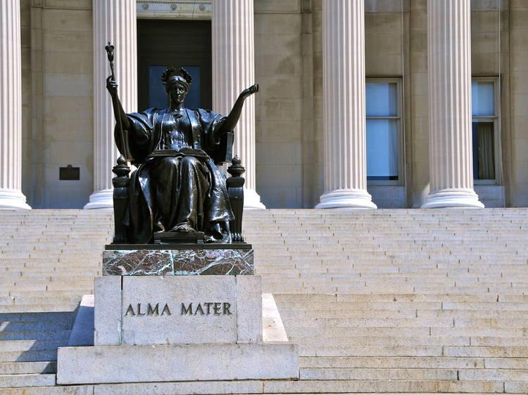 Columbia University's Alma Mater statue