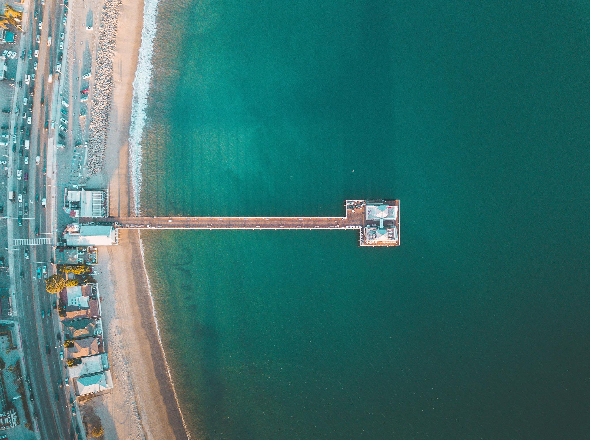Malibu Pier, Surfrider Beach