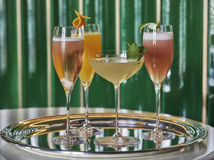 Champagne Bar at the Four Seasons Hotel at the Surf Club