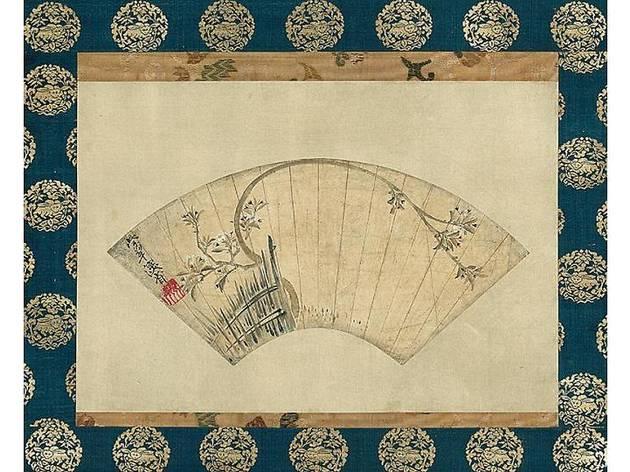 尾形乾山『桜図』