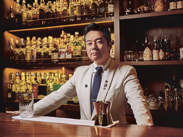 Mizunara The Library's Masahiko Endo