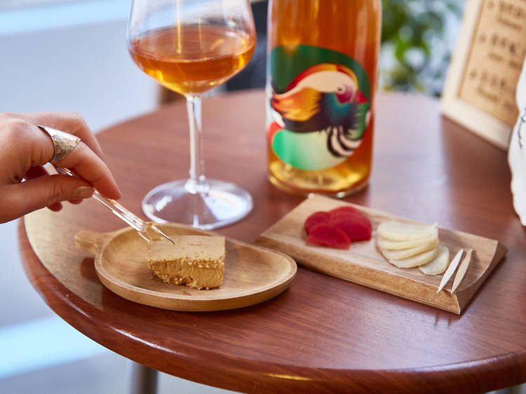Sip your way through a variety of Japanese wine at Shubiduba