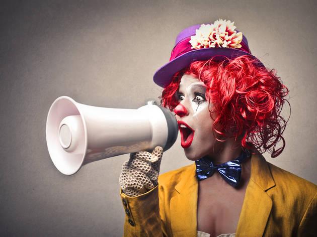 zagreb, clown, festival,  things to do,croatia