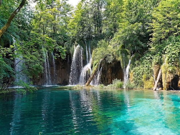 Milanovac waterfall at Plitvice Lakes National Park