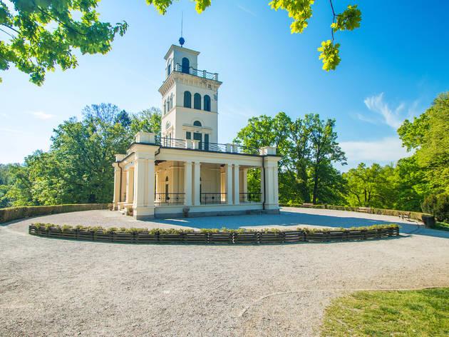 19th-century architecture in Zagreb's Maksimir Park