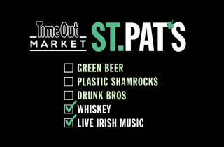 St. Patrick's Day at Time Out Market New York