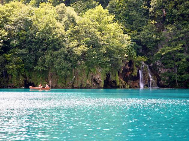 The blues and greens of Plitvice Lakes National Park
