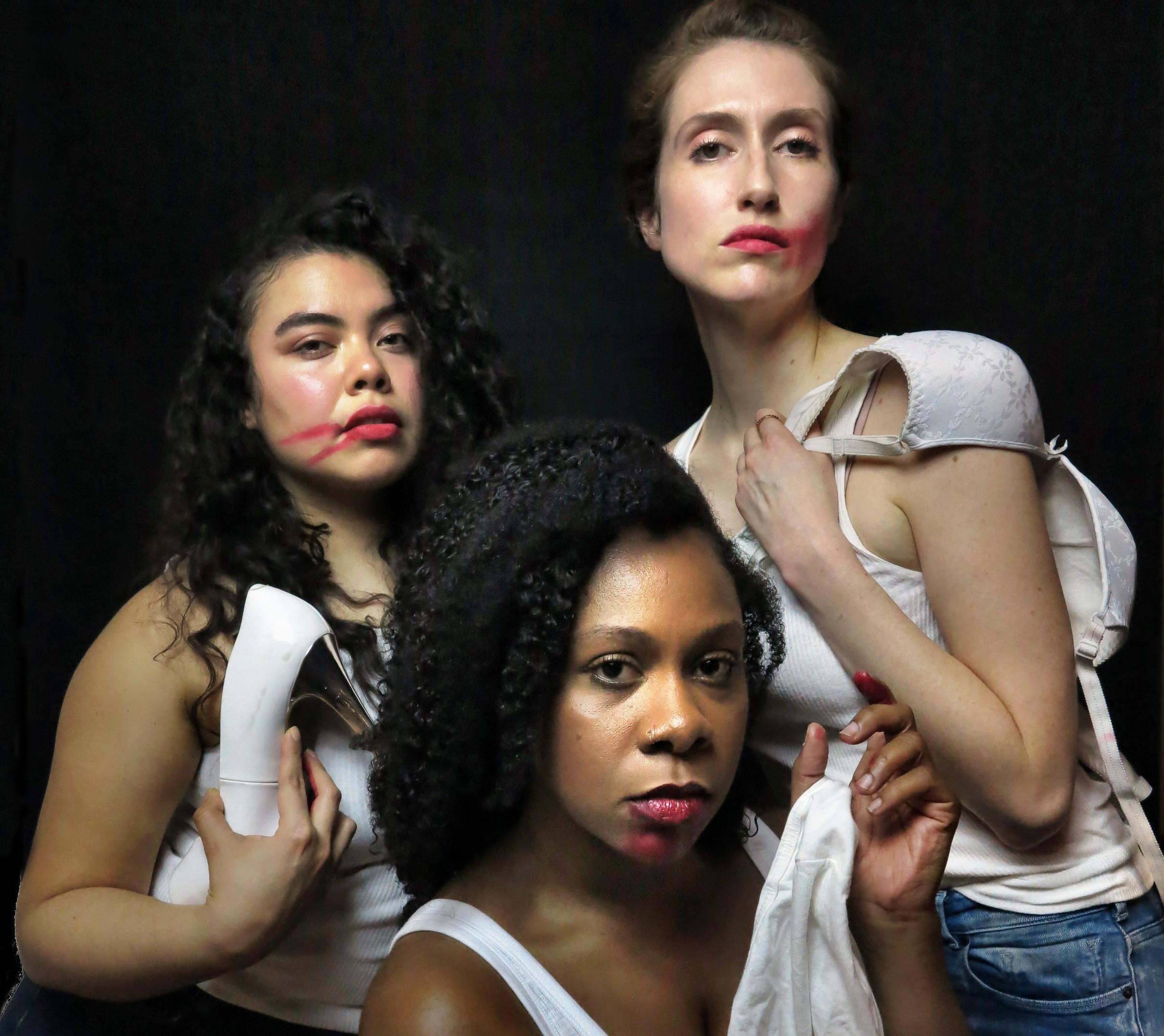 Ninoshka De León Gill, Cherrye J Davis and Rebeca Miller in Spoiled