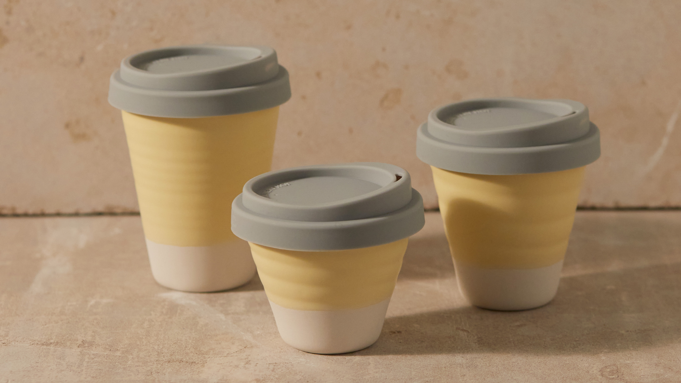 Reusable coffee cup by Clay Cups