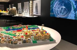 Piece of Peace Lego exhibition