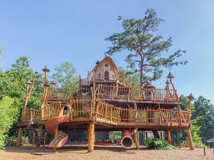 8 best outdoor adventure parks near Tokyo
