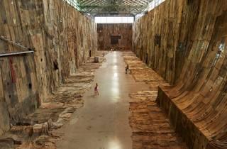 Ibrahim Mahama's stunning art decks the Turbine Hall.