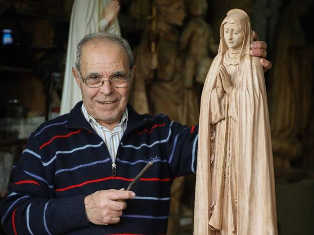 Luciano Thedim, Santeiro