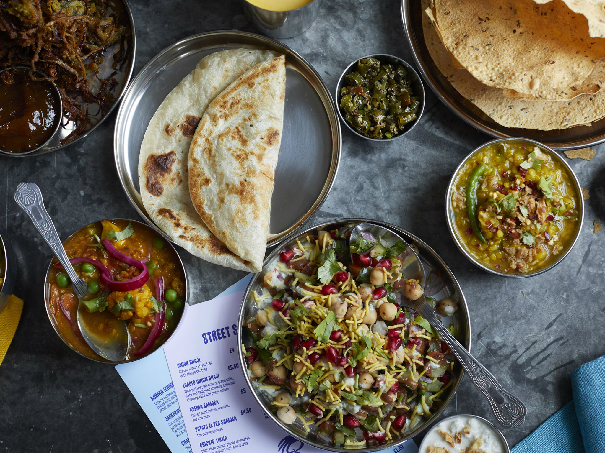 London's top Indian restaurants that are still doing deliveries and takeaways