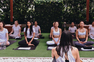 The Upper House' Flow into strength by lululemon