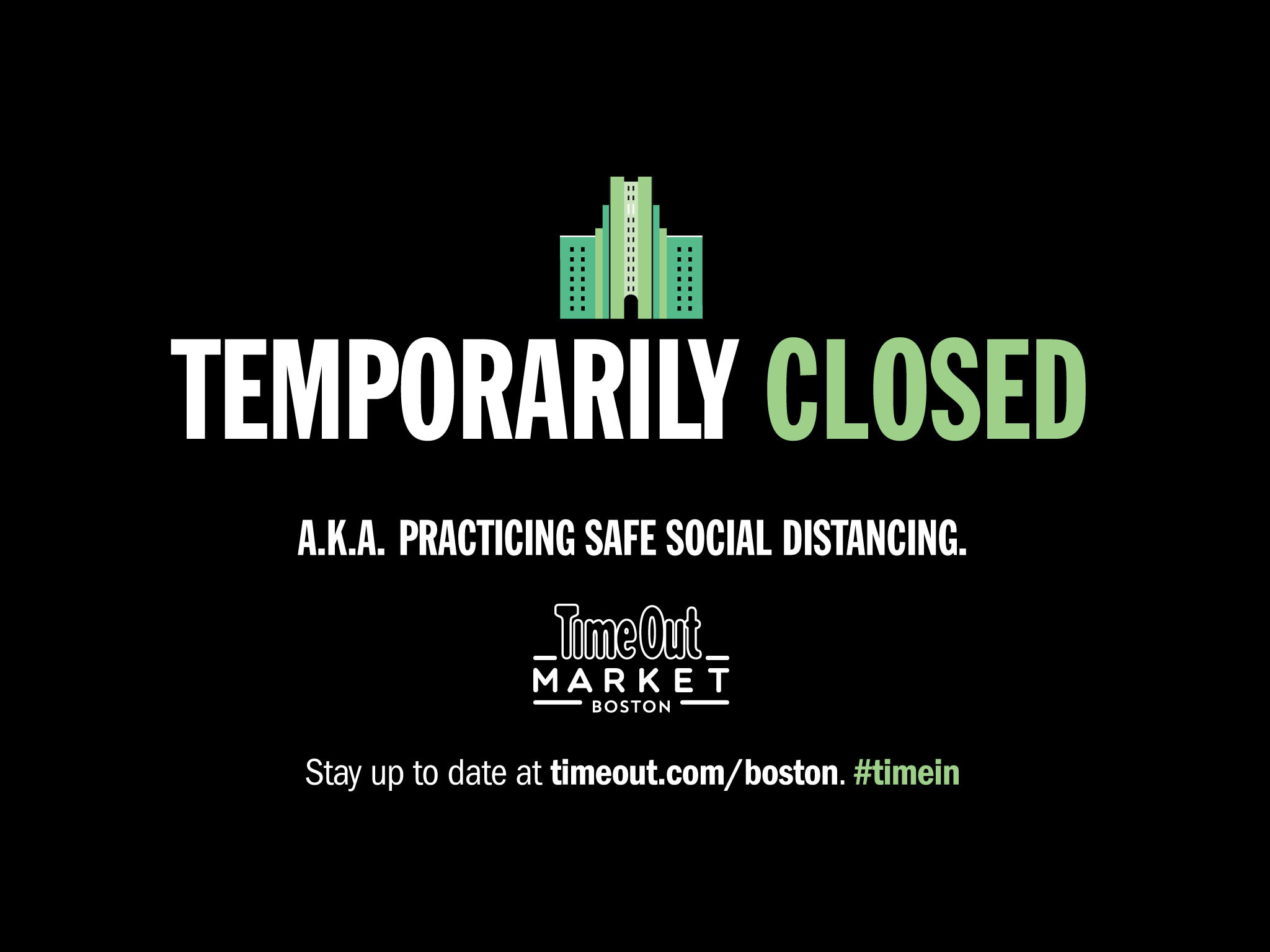 Time Out Market Boston is temporarily closed