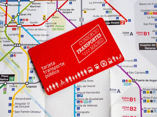 Tarjeta Transportes Abono 3 días