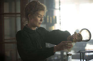 Rosamund Pike in Radioactive