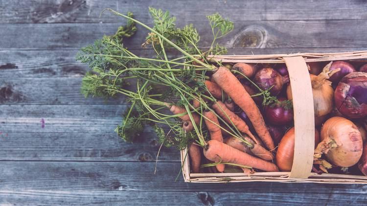 Fresh veggie doorstep delivery