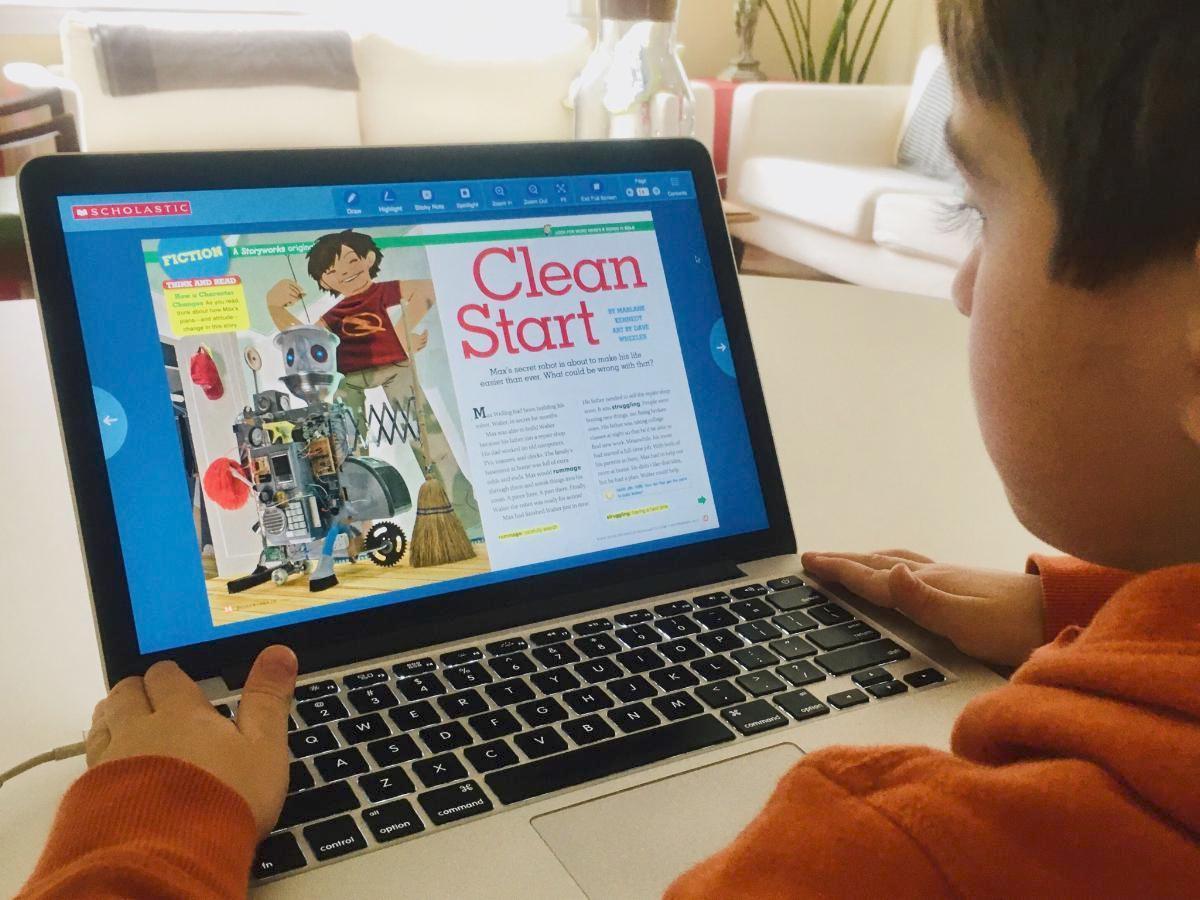 Scholastic Online