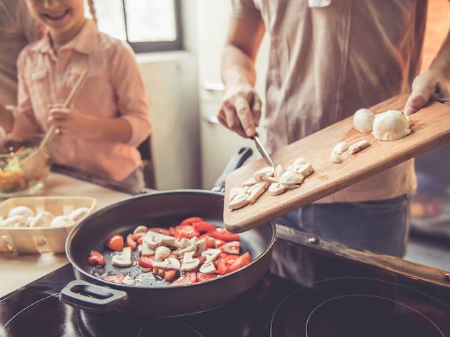 Cocina casera en familia