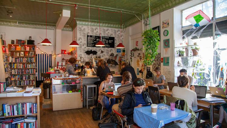 Topos Bookstore Cafe