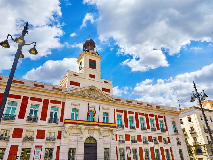 Porta do Sol em Madrid