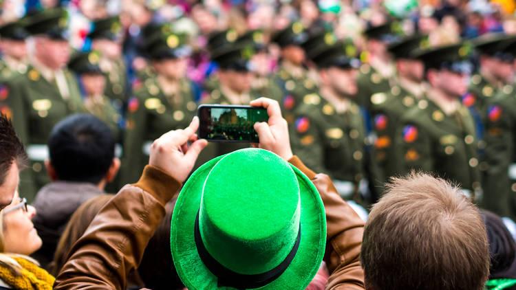 St Patrick's Day parade in Dublin