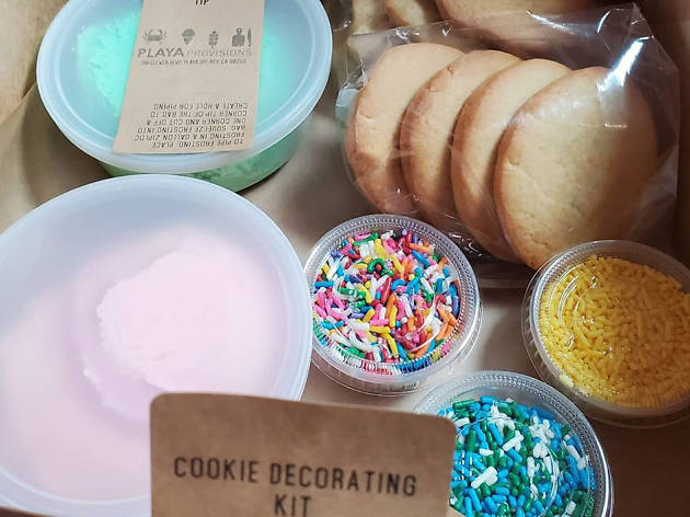 Playa Provisions cookie decorating kit delivery special