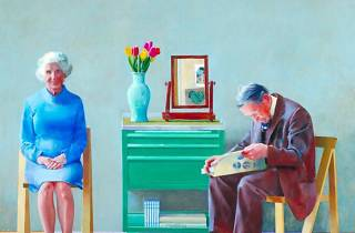 My Parents, David Hockney