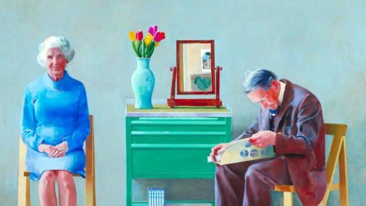 My Parents, David Hockney